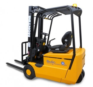 BINGOplus - Model N Light 1100 - 3 Wheel Forklift Trucks