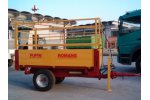 Model PUP 20 R - Single-Axis Trailer