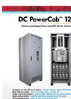 DC PowerCab - Model 120 - Factory-Packaged Non-Stop DC Power System - Datasheet