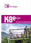 Model K8e - Working Lifting Platform Brochure