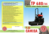 Model TP 500 - Tracked Minidumper with Seat- Brochure
