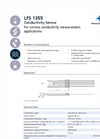 IST - Model LFS 1355 - Conductivity Sensor - Data Sheet