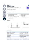 IST - Model B.LV5 - Biosensor Array for analytical applications as Flow-through Sensor- Data sheet
