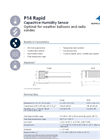 IST - Model P14 Rapid - Capacitive Humidity Sensor- Data Sheet