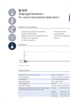 IST AG IV4 - Biosensor for Stable Continuous Single Parameter Dip-in Applications - Data Sheet