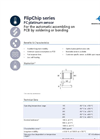 IST AG FC Platinum Temperature Sensor - Data Sheet