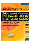 8th Annual BioCycle Conference On Renewable Energy From Organics Recycling Brochure