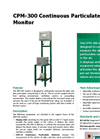 Model CPM-300 - Continuous Particulate Monitor Datasheet