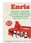 ENRIA - FR 85 - Shifting Milling Machine  Brochure