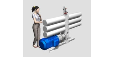 Model 150-1-DB8SW150 - Desalination Plant