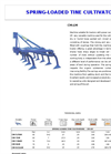 Model CM-LM - Spring Loaded Tine Tiller Cultivator Brochure