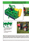 Trincia - Model 118/3P H - Suitable for Mini Tractors with 3 Point Hitch - Brochure