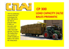 Automatic Prismatic-shaped Bale-rollerholder Trailer CP 300 P- Brochure