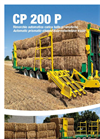 Model CP 200 P - Automatic Prismatic-Shaped Bale-Rollerholder Trailer Brochure