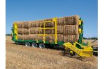 Model CP 200 P - Automatic Prismatic-Shaped Bale-Rollerholder Trailer