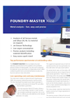 CompaFOUNDRY-MASTER - Xline Series - High Performance Metals Analyser  Brochure