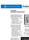 GE ZTX - 40 Amp Automatic Transfer Switch Brochure