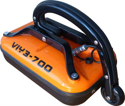 Ground Penetrating Radar - Model VIY3-700h - 700 MHz, up to 2.5 meters depth, small odometer