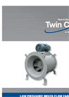 Model QCLB - Low Pressure Mixed Flow Fan Brochure