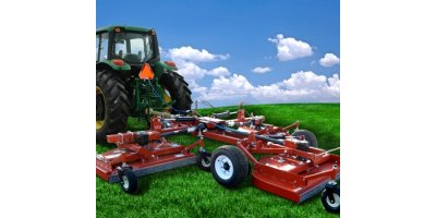 Turf Flex  - Model TX - Tri-Deck Finishing Mowers