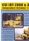 Model IDT-2800 - Independent Delimber Trailer Brochure