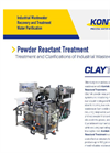 ClayTek - Powder Reactant Treatment Systems Brochure