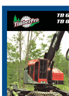 TimberPro - TB 830 and TB 630 - Handle Larger Cutting Attachments Wheeled Machines Brochure