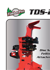 TimberPro - Model TDS 22 - Disc Saw Felling Attachment - Brochure