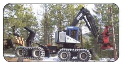TimberPro - Model TF830,TF840 and TF810 - Versatile Wheeled Machines