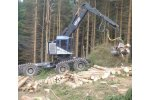 TimberPro - Model TB 830 and TB 630 - Handle Larger Cutting Attachments Wheeled Machines