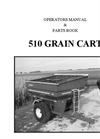 Model 510 - Grain Cart Manual