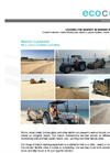 Ecocoast Beach Cleaning Brochure