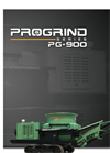 Model PG-900 - Wood Waste Recycling Equipment Brochure