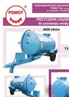 Drinking Water Transport Tractor Trailer Brochure