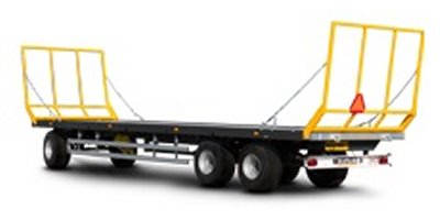 Model PRS-2S and PRS-3S  - Platform Trailers for Bales