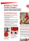 Model G - Poultry Feeder Brochure