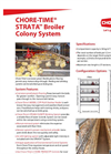 STRATA - Model CT-2569/201501 - Broiler Colony System Brochure
