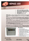 Alpha - Model 4/8/12 - 12 Zones Fire Detection Conventional Panel- Brochure