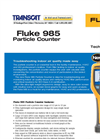 Fluke - Model 985 - Airborne Particle Counter Datasheet