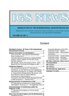 A Copy of IGS News, Volume 29, Issue 3 Brochure