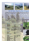 BALYA MAKİNALARI - KE 555 - Baler Machine (Non-Chopper) Brochure