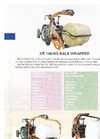 Kayhan Ertugrul - Model KE 140 - Bale Wrapper - Brochure