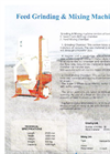 BALYA MAKİNALARI - - Feed Grinding and Mixing Machine Brochure