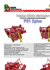 Model PD2 - Manual Two Rows Potato Planter Machine Brochure