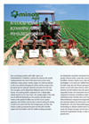 Minos Agri - Inter Row Rotary Cultivator Brochure