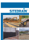 SiteDrain Strip Drain Brochure