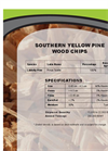 Wood Chips - MDF Producers Specifcations Sheet