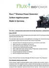 Model Flux-i 15 kW_e - Biomass Generator with Cooling Power Brochure