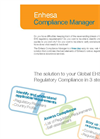 Enhesa Compliance Manager Flyer