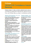 Enhesa EHS Regulatory Services Overview